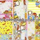 Sandocchi Loose Memo Sheets by Crux Japan kawaii
