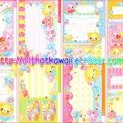 Sweet Cutie Loose Memo Sheets by Kamio Japan kawaii