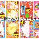 Lunch Loose Memo Sheets by Crux Japan kawaii
