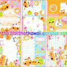Cream Puffs Loose Memo Sheets #1 by Crux Japan kawaii