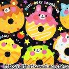 Crux Doki Doki Doughnuts Mini Memo Pad kawaii