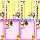 Cafe Cafe Loose Mini Memo Sheets #7 by Kamio Japan kawaii