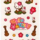 Sanrio Hello Kitty Hula Hawaii Sticker Sheet kawaii