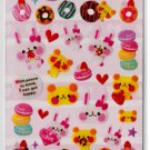 Crux Cute Sweets Sticker Sheet kawaii Stickers Desserts Sweets Bears