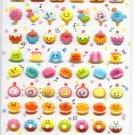 Crux Happy Desserts Sticker Sheet kawaii cakes ice cream macaroons puffy stickers