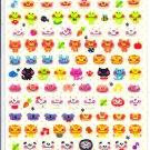 Q-lia Chima Chima Animals Sticker Sheet kawaii doughnuts stickers