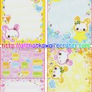 Love Happy Loose Memo Sheets by Crux Japan kawaii