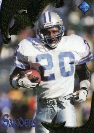 1997 97 Excalibur Barry Sanders card #47 Detroit Lions