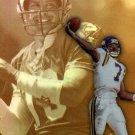 1999 99 Topps Gold Label Race to Gold Randall Cunningham card #R4 Minnesota Vikings
