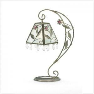 Flower Swirl Candle Holder