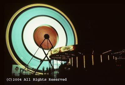 Life of the Ferris Wheel Photo Print 8x10