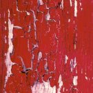 Bright Red Paint of a Past Era Photo Print 8x10