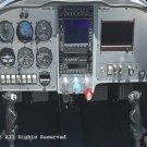 Lancer Air Cockpit II Giclee Art Print 12x16