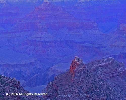 Blue Canyon Giclee Art Print 12x16