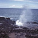 Blow Hole Hawaii Giclee Art Print 12x16