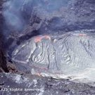 Kilauea Crater Giclee Art Print 12x16