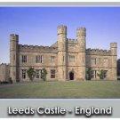 Leeds Castle Giclee Art Poster 16x20