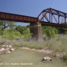 Cibolo Rail Bridge Giclee Art Print 12x16