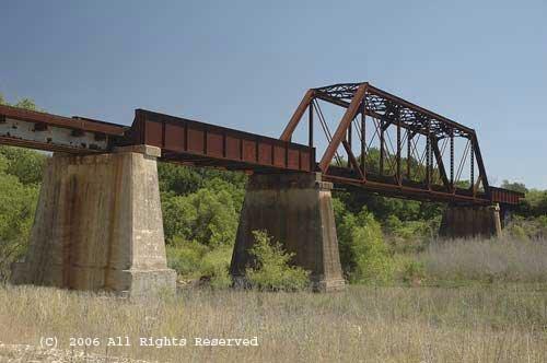 Cibolo Rail Bridge II Giclee Art Print 12x16