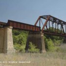 Cibolo Rail Bridge II Giclee Art Print 12x16