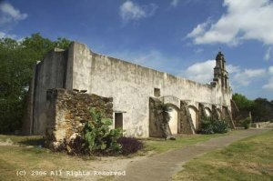 San Juan Church Giclee Art Print 12x16