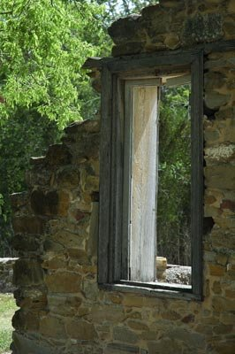 Weathered Window Giclee Art Print 12x16