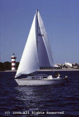 Sails on the Lake Giclee Art Print 12x16