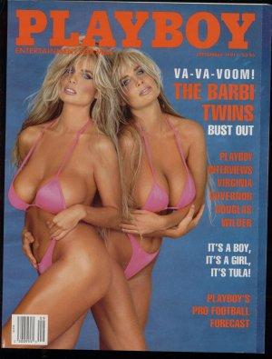 Playboy 1991 Barbie Twins Tula Pro Bill Gates