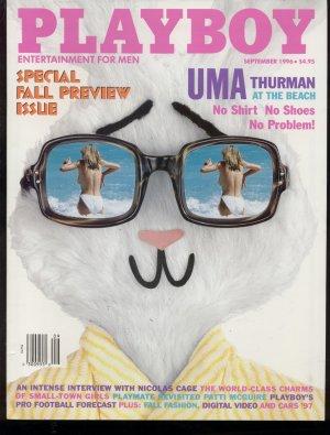 Playboy 1996 Uma Thurman Nicolas Cage Patti McGuire