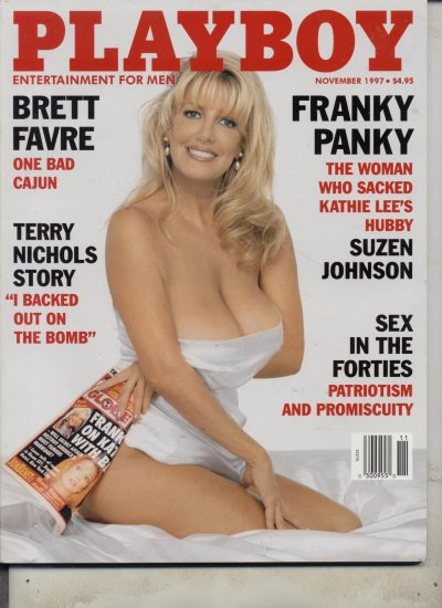 Playboy Nov 1997 Brett Favre Bebe Buell Terry Nichols
