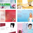 25 Beauty, Massage, Spa Brochures