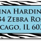 140 Zebra Print Address/All Purpose Labels