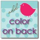 Backside Color Upgrade for Business/Calling Cards
