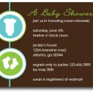 Onsies & Booties Invitation/Announcement