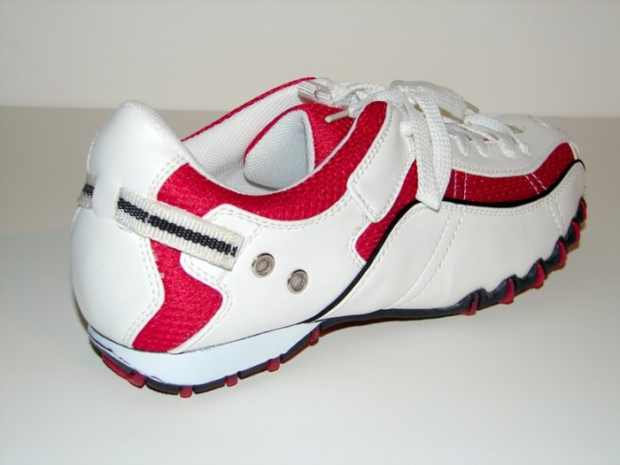 Red & White Casual Shoes