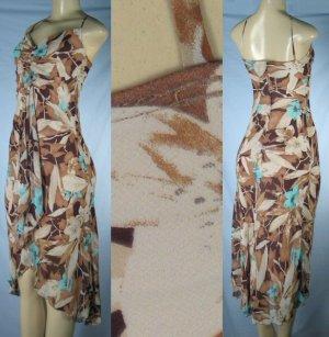 Kitty - Junior Strappy Dress with Ruffle Bodice Accent & Fashion Hem