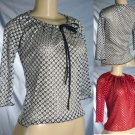 Top This - Junior Long Sleeve Lace Mesh Tops
