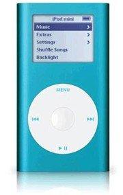 Apple iPod Mini 6GB 2nd Generation MP3 Player BLUE