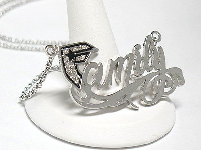 Family necklace (R1249SL-219109)