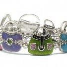 Lady bag stretch bracelet(D1153MT-12936)