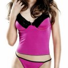 Georgette underwire bra top set(80377SM)