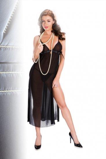 Long sheer nightgown(80521SM)
