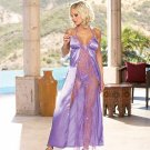 Charmeuse and Metallic Gown(5469DG)