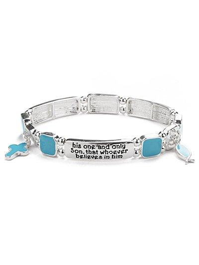 Bible Inscribed bracelet(b1457lfstq_4HD)