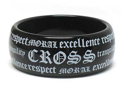 Acrylic message bracelet(E11141IV-10997)
