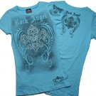 Rhinestone FLEUR/ROCK ANGEL Shirts