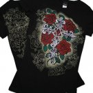 Tattoo Fleur & Cross Desginer Shirt