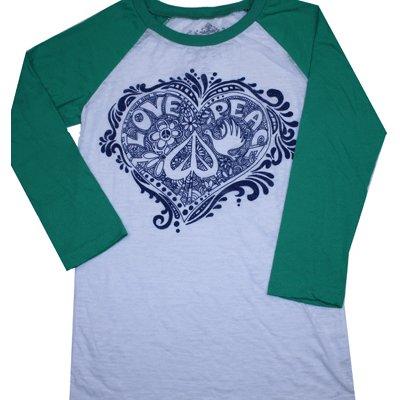 Love,peace,heart t-shirt