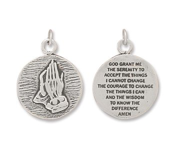 Reversible Charm with Praying Hands(73166)