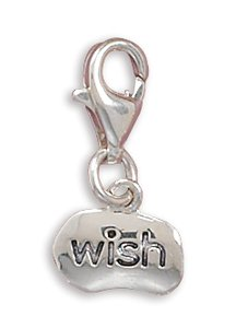 """""""Wish"""" Charm with Lobster Clasp73316)"""